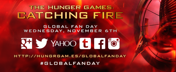 Catching Fire Global Fan Day