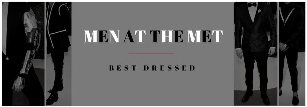 Men at the Met: Best Dressed