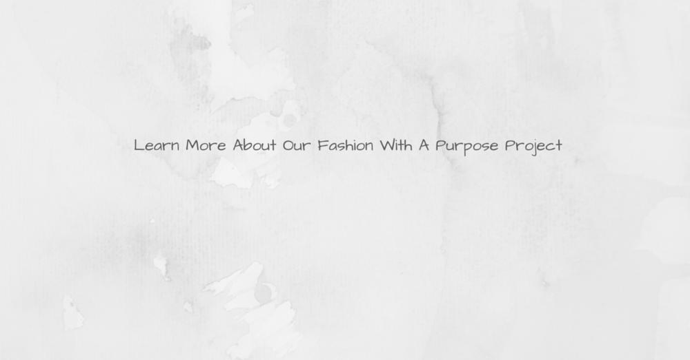 Fashion With A Purpose Banner