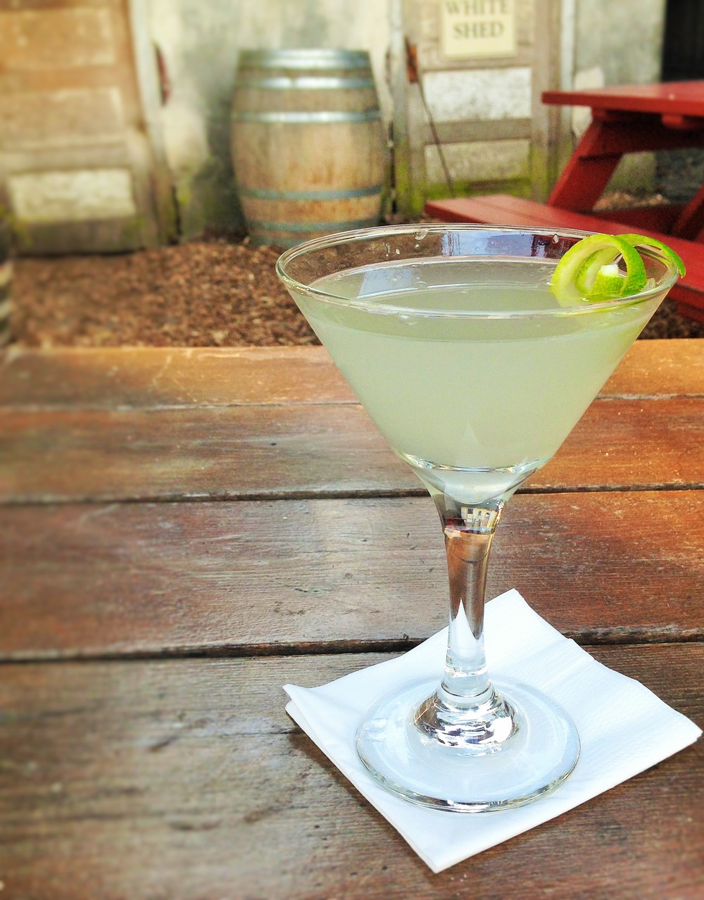 Lime in de Coconut Martini