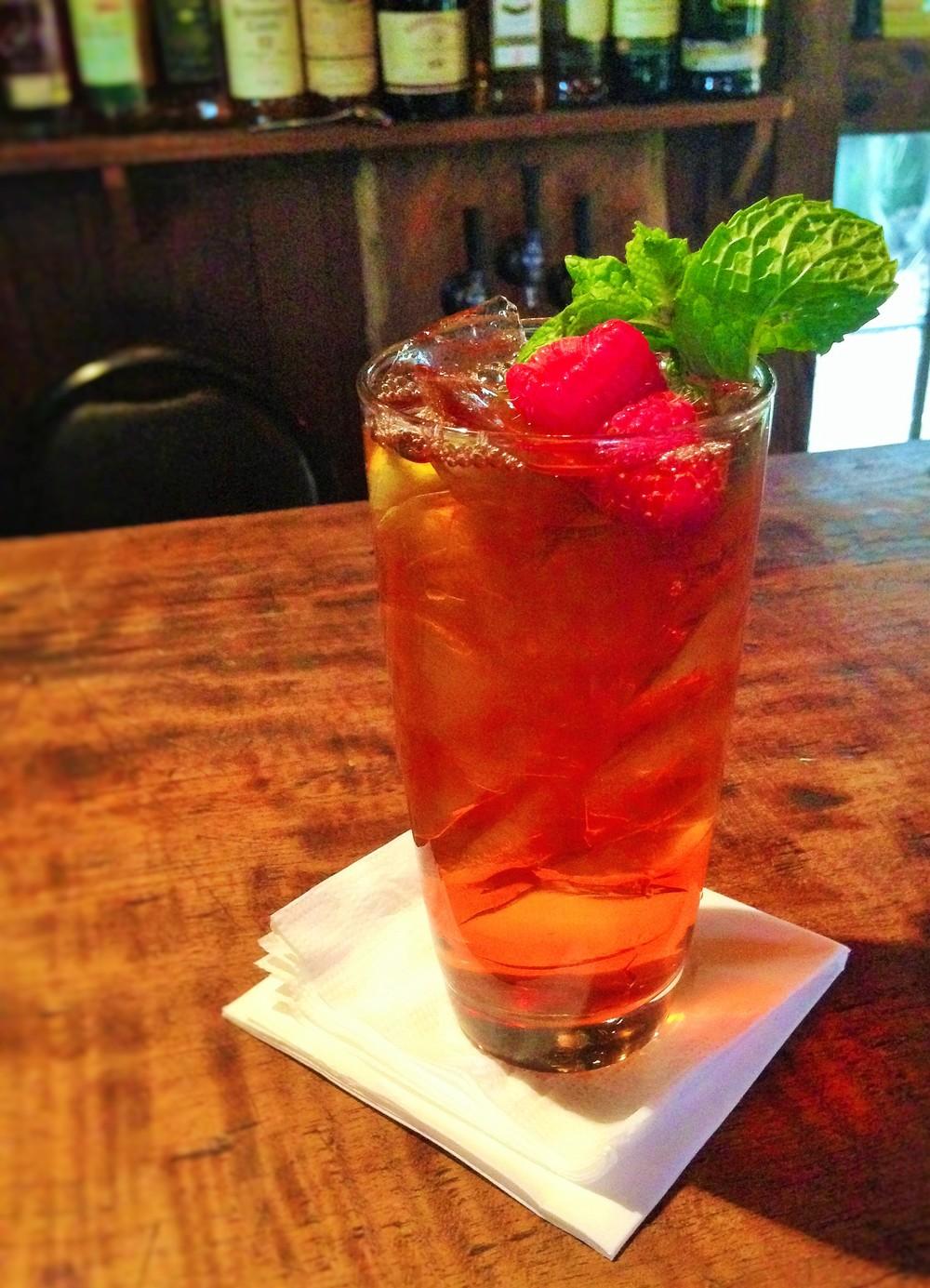 Raspberry Mint Tea
