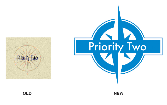 PRIORITY TWO LOGO