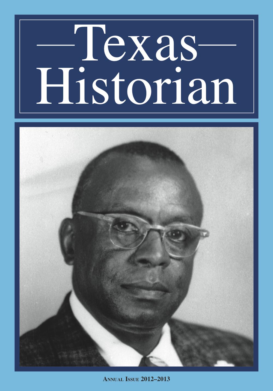 TEXAS HISTORIAN COVER