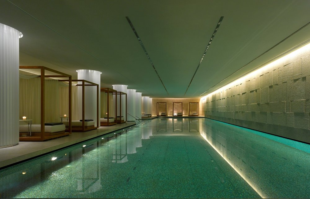 - The hotel features a 22,000 square foot SPA on two floors: our swimming pool is the longest in town within a hotel – 25 meters long. We opened three months before the Olympic games in London 2012, therefore this is a little gesture to remind guests about one of our city's greatest events.