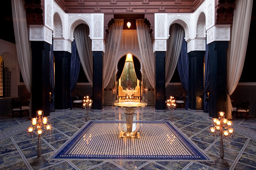 - More than 4.5 acres of underground tunnels underneath Royal Mansour Marrakech, accessed only by staff, guarantee the utmost privacy and discretion. This concept was actually modeled after one of the modern era's leaders in providing experiences, Walt Disney World, which has a city of staff and service underground.