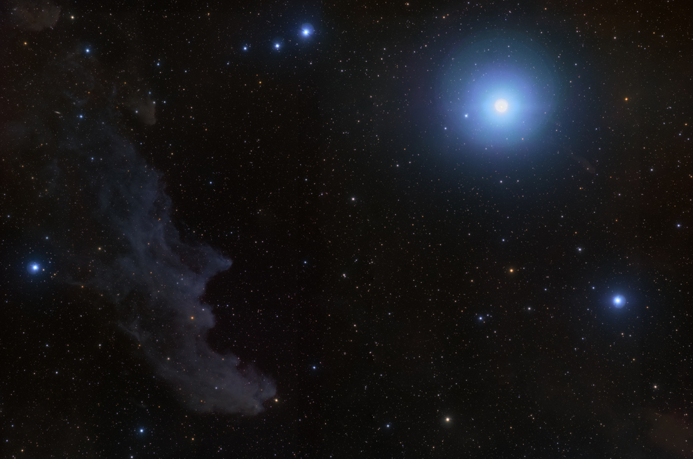IC 2118 - The Witch Head Nebula and Rigel