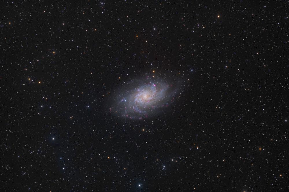 M 33 - TheTriangulum Galaxy