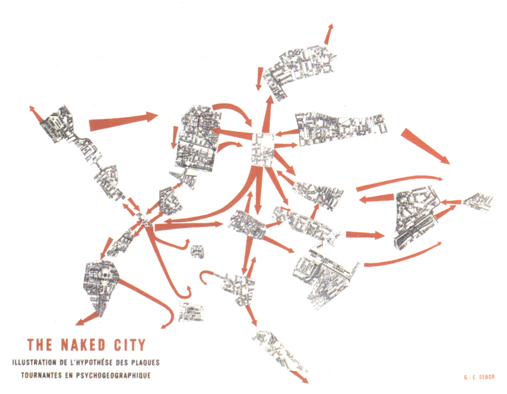"""The Naked City"" by Guy Debord"