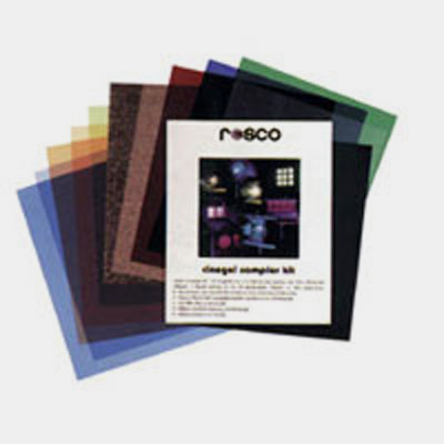 We recommend a Rosco Cinegels Sample Kit for starters, because it not only includes a variety of gels to dial up or down your light, it also carries ready-made deterrents against mixed lighting based on light type, and comes with some added diffusion materials.