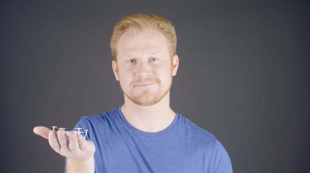 Matt Brue , founder of  Capture Film Co , holding a  tiny training drone . Below he shares his 8-step checklist before he takes his drones to the sky.