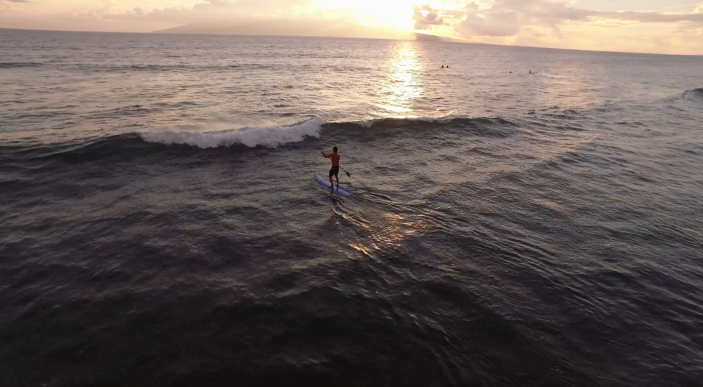 An aerial shot over the waves. License this clip from Matchstix Studios  here .