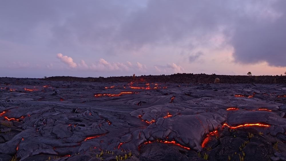 Lava on Kilauea