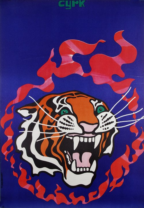 I want this incredibly badass Polish circus poster.