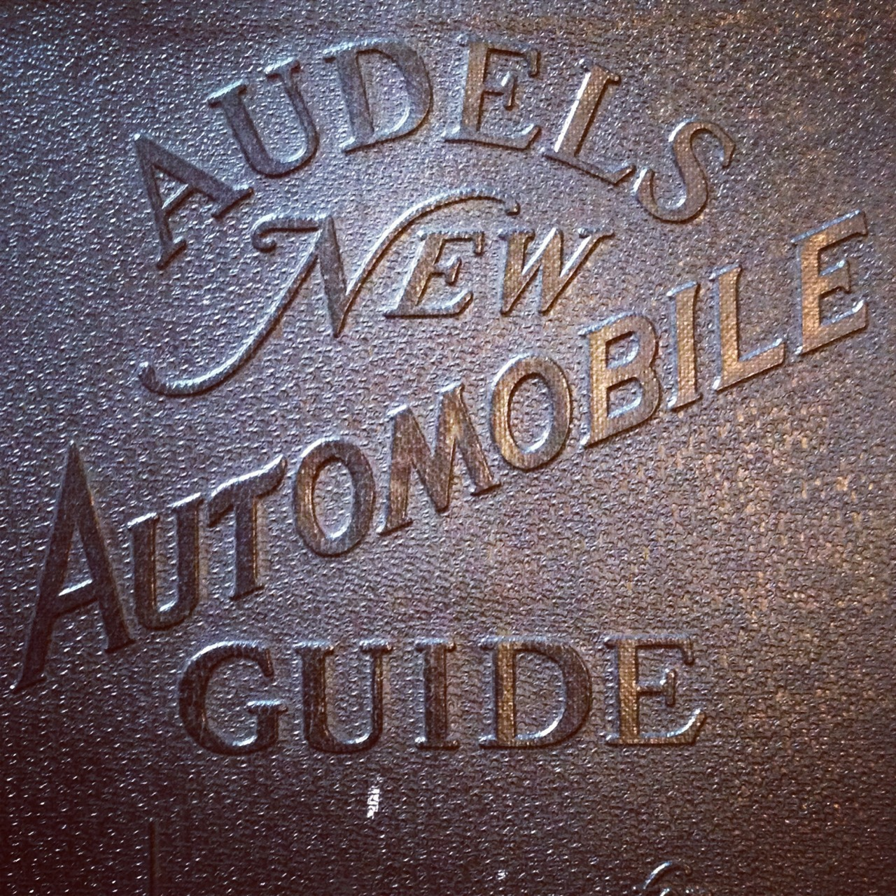 1938 auto mechanics guide