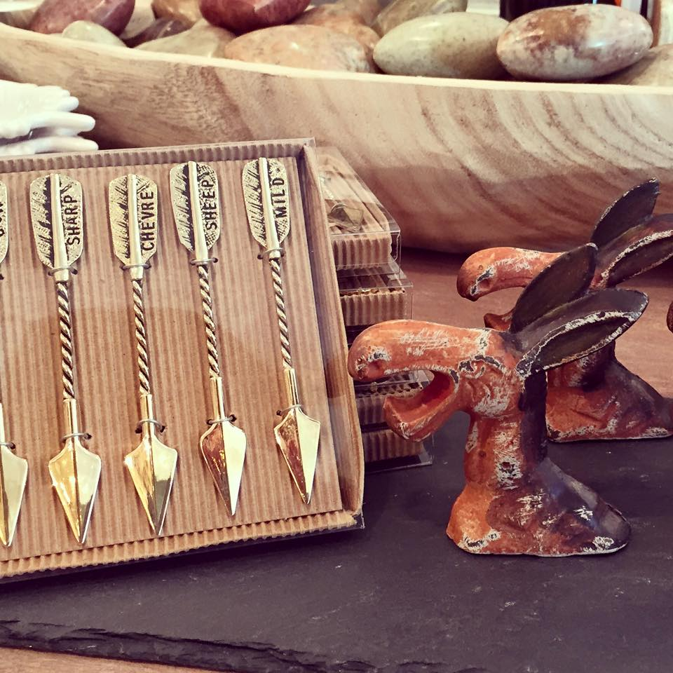"Planning a house party  ? Check out this 4""L zinc alloy arrow cheese markers & 3-1/2""H vintage reproduction of cast iron donkey bottle opener....How CUTE!"