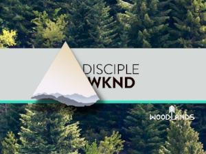 Disciple Weekends exist to refocus us on the mission of the church: Jesus' mission to make disciples. Once per quarter we take an entire service to refocus, encourage, and celebrate disciple-making at Woodlands.