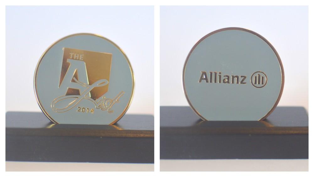 Allianz A-list coin-2014