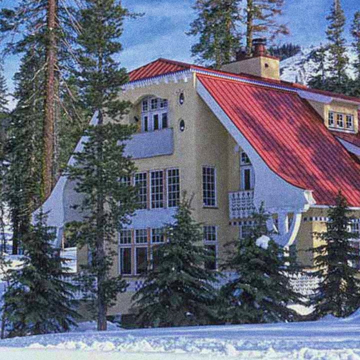 Art Nouveau Mountain House
