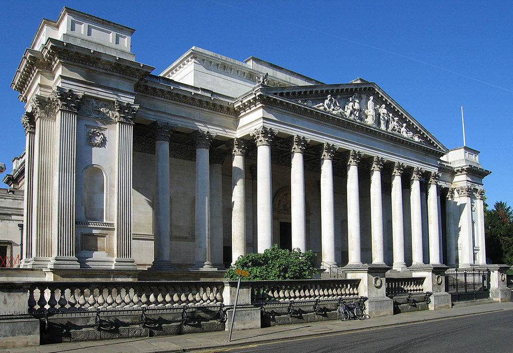 Exterior of Fitzwilliam Museum