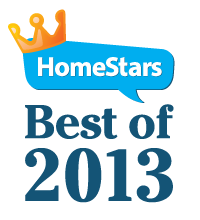 HomeStars Best of 2013 logo