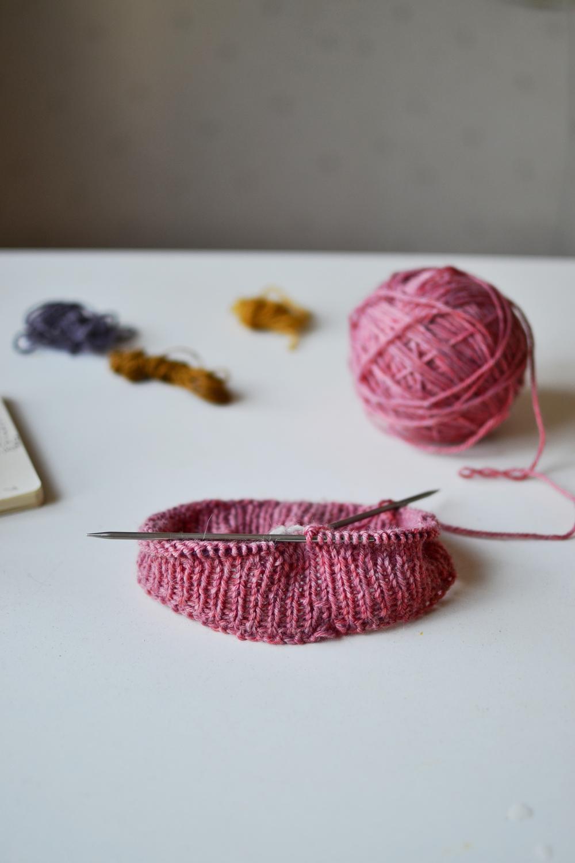 work in progress pink hat.JPG