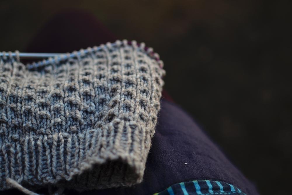 tiny hat in progress.JPG
