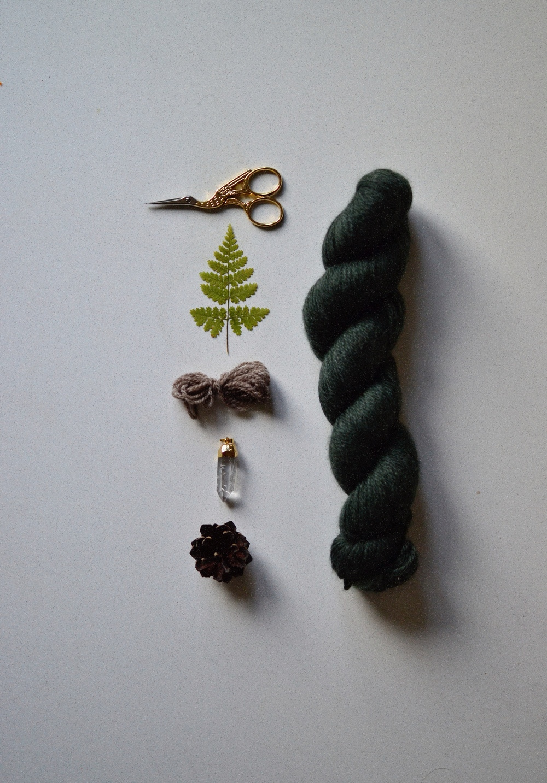 green yarn & tiny treasures