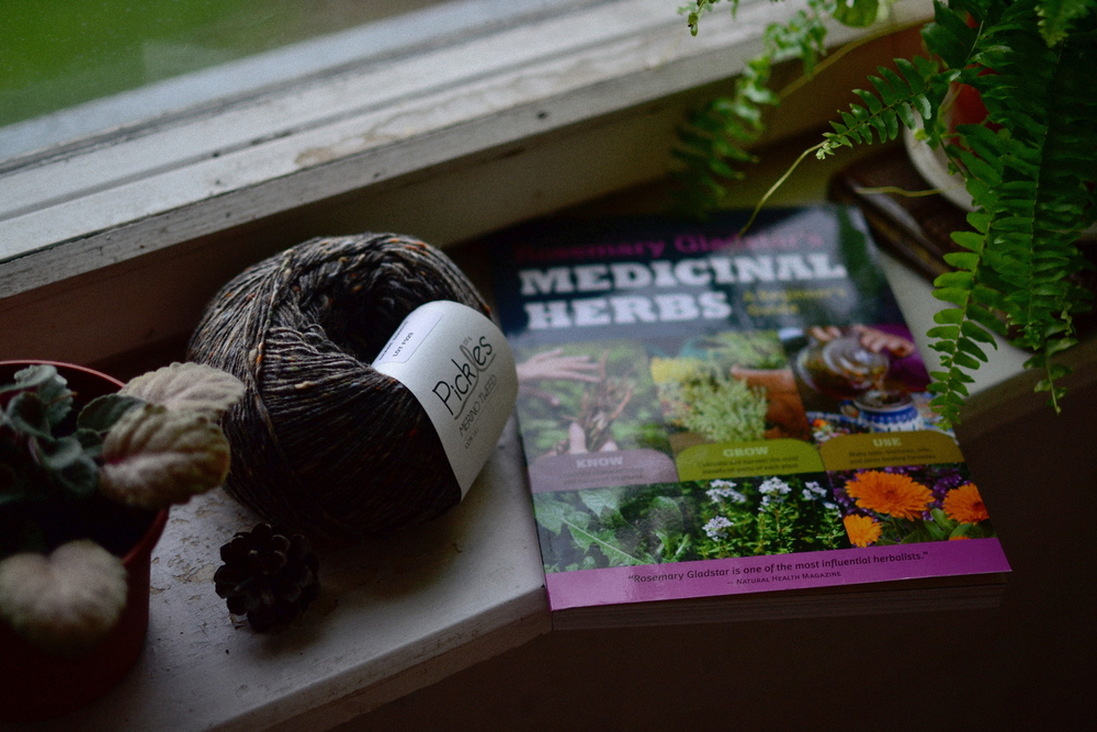 yarn along medicinal herbs