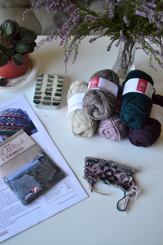 Shetland Wook Week Knit Along