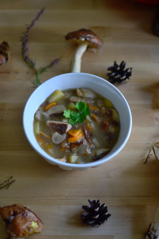 Mandarine's: Woodland soup