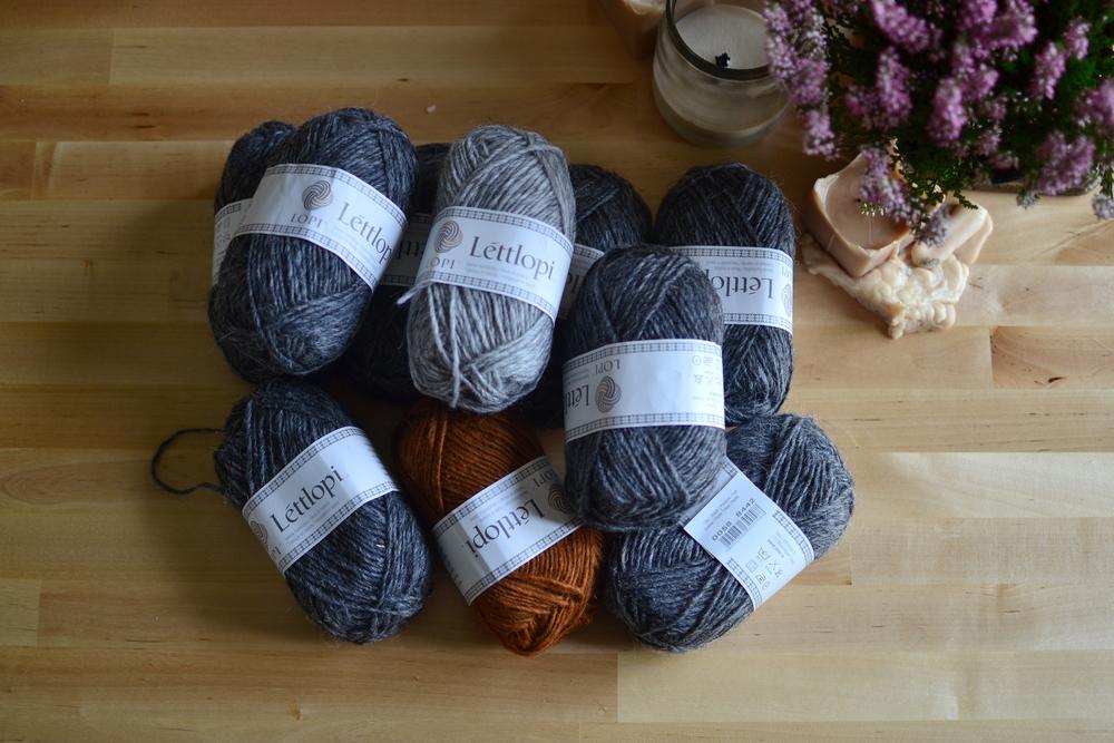 Mandarine's: Lopi wool