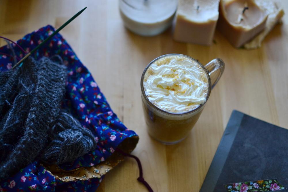 Mandarine's: Pumkin spice latte