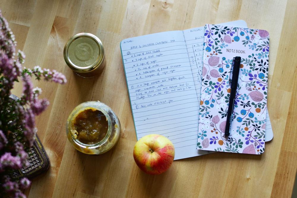 Mandarine's: Apple & rhubarb cinnamon jam