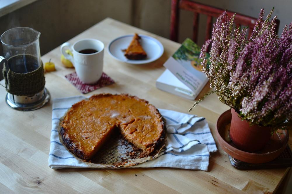 Mandarine's: Seasonal sweet journal: Pumpkin pie