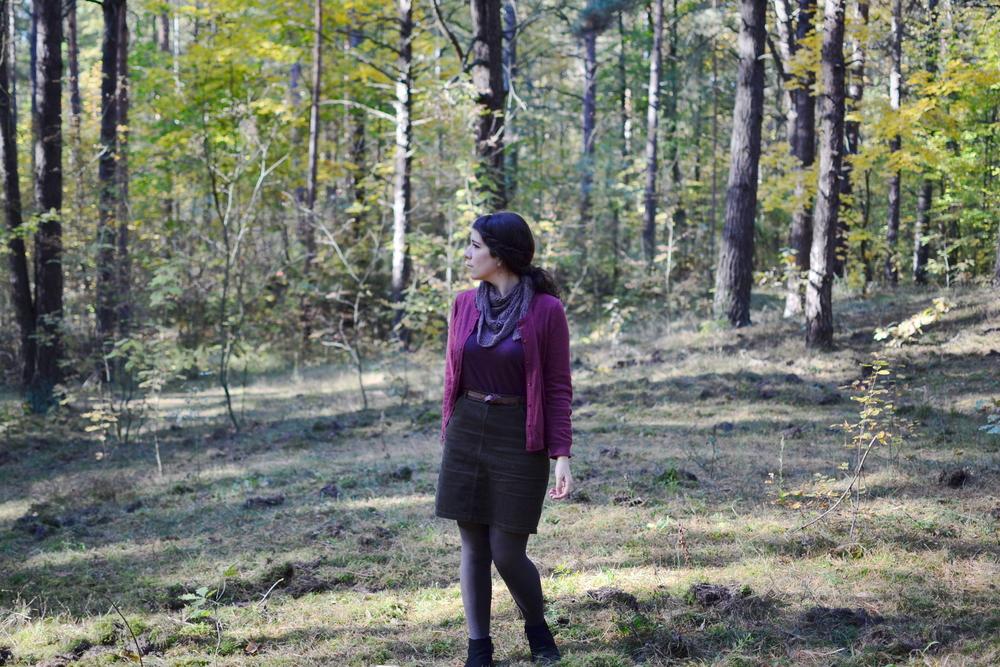 Mandarine's: Autumn Shaelyn shawl
