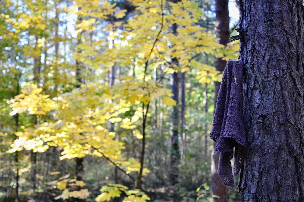 Mandarine's: Shaelyn shawl