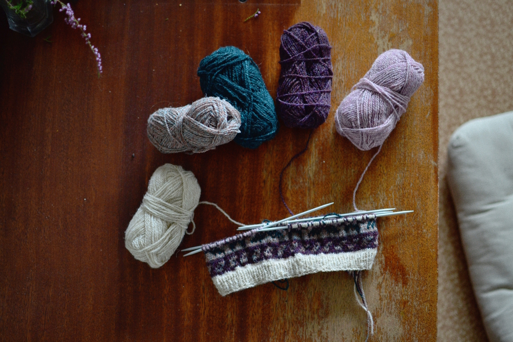 Mandarine's: Shetland Wool Week Shwook Hat KAL