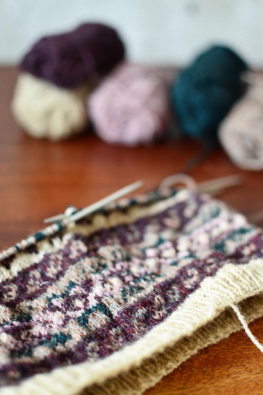 Mandarine's: Shetland Wool Week Knit Along