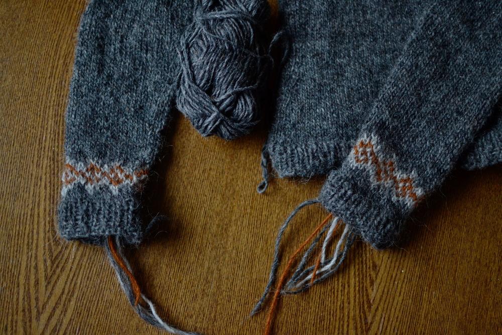 Mandarine's lettlopi sweater