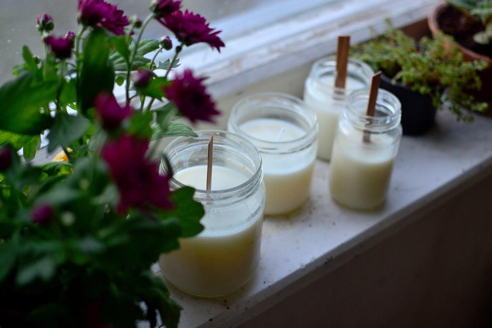 Mandarien's: Homemade soy wax candles