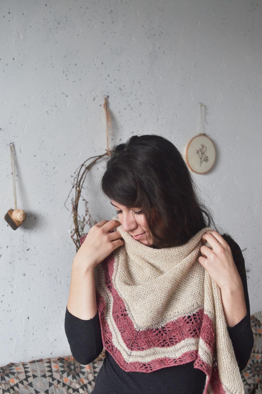 Selkie shawl