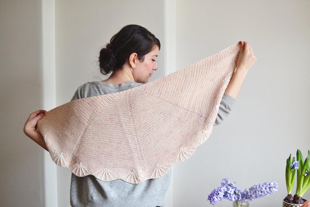 blossom shawl