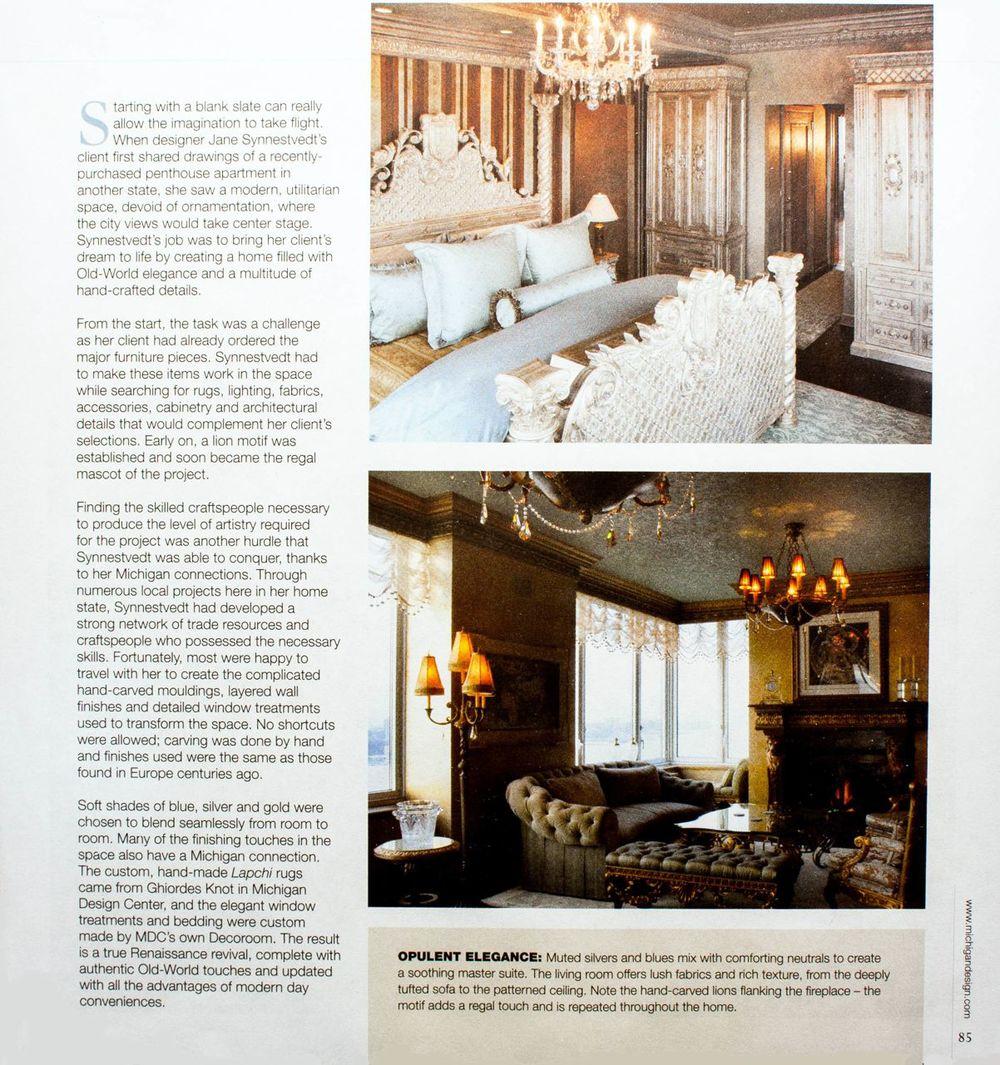 Interior Design Awards Press Jane Synnestvedt