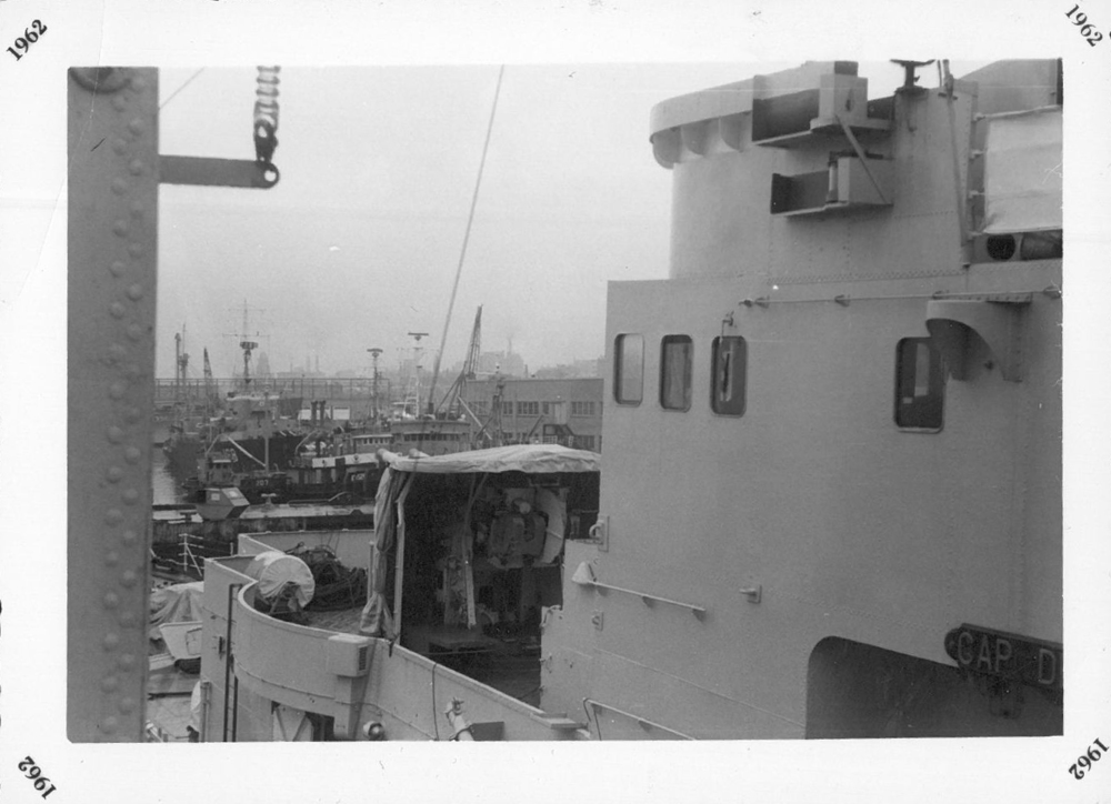 View from ship (1962)