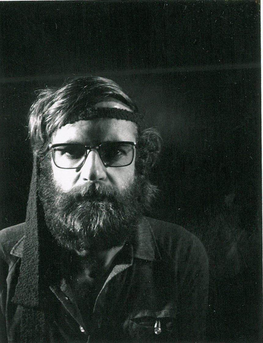 Gerald Thurston Self Portrait (circa 1970)