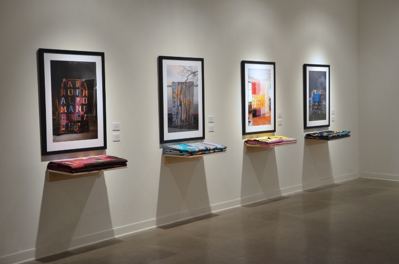 Installation at Art Gallery of Calgary, Garage Montage, 2012