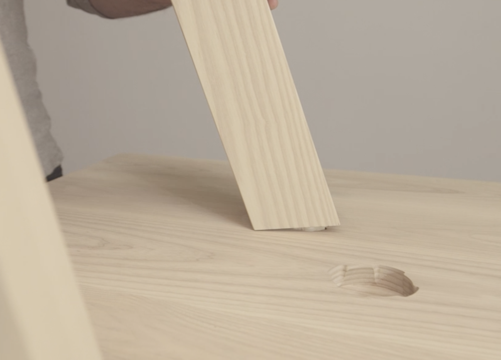Innovative Solutions - We have designed and developed a hardware-free joinery system called the TwistLock, making the set up of our furniture simple and elegant. It also allows for multiple leg positions in some of our products. This is just one example of how we embrace technology in our process, allowing us a level of accuracy and consistency that simply put would not be possible by hand.