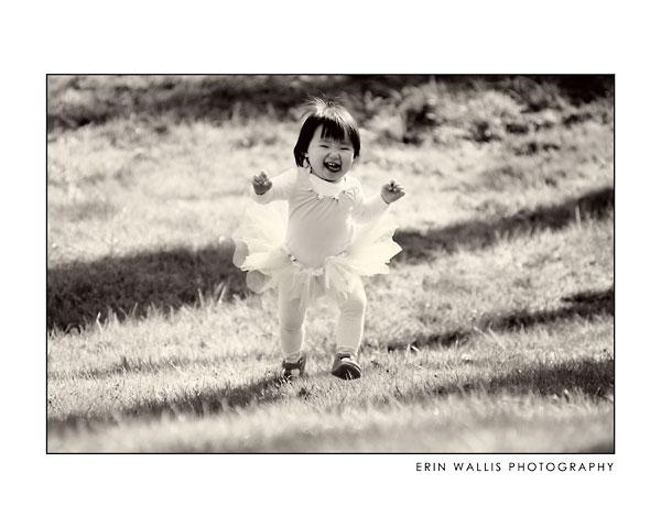 ballerina running