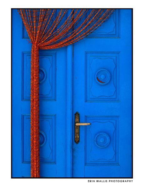 door in Mykonos