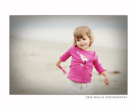 julia smiling at miracle beach